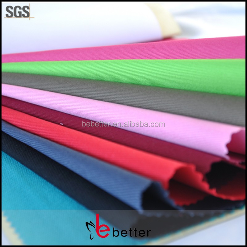 "cotton dacron blend fabric polyester65 cotton35 T/C 65/35 21X21 108X58 3/1 190-195gsm 59/60"" twill reactive dyed china suppliers"