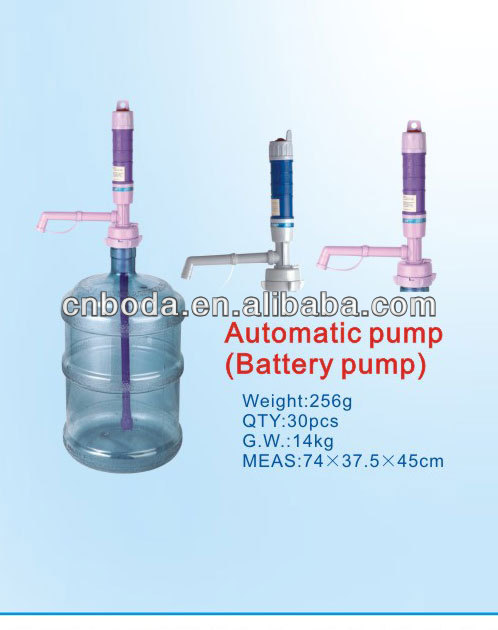 Drinking hand manual battery operated water pump