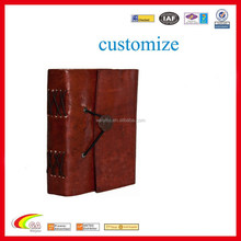 customize pu leather cover /diary/ notepad factory direct