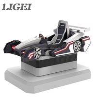Attractive Virtual Reality Simulator F1 Car