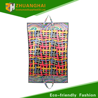 non woven suit garment bag with pockets