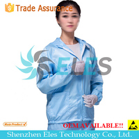 Antistatic coverall uniform jacket