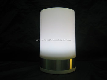 Wireless restaurant Lamp / rechargeable led table lamp