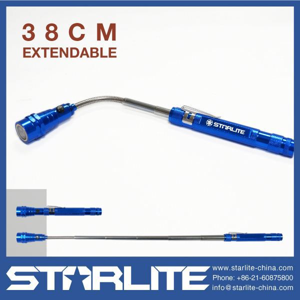 STARLITE work light extendable professional head rotate flashlight
