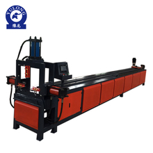 CNC Auto hydraulic stainless steel pipe hole die punching machine