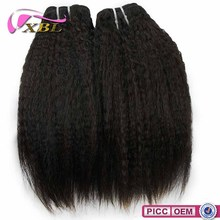 XBL Best Selling In America Full Kinky Straight Hair Cuticle Weave