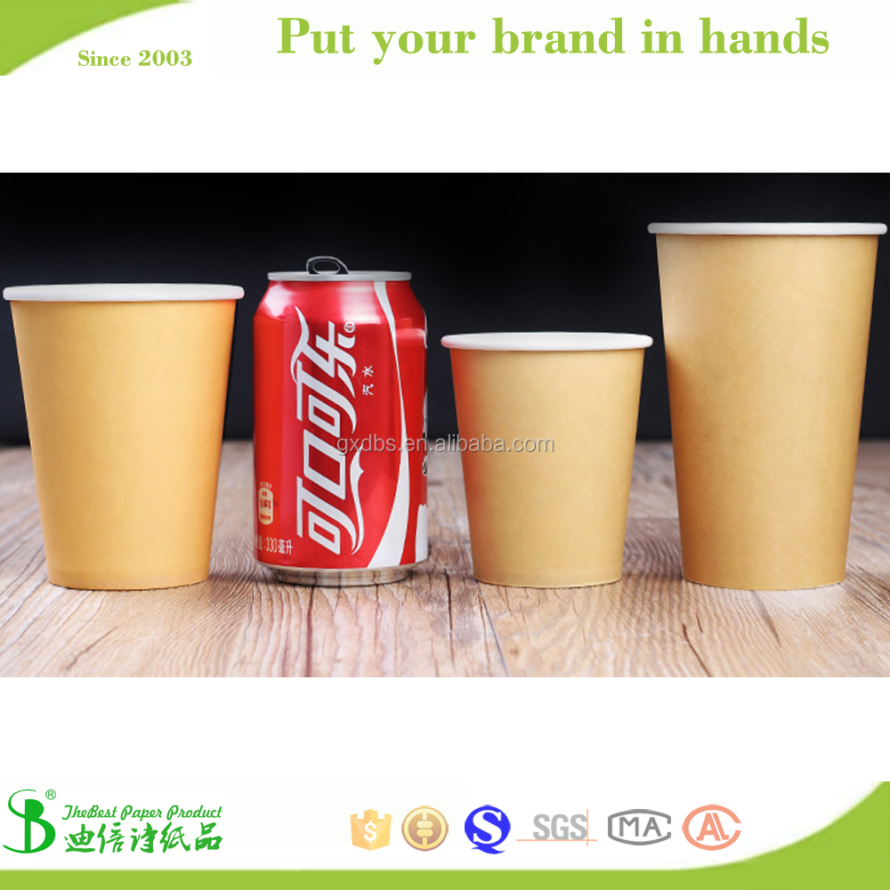 Company logo printed kraft cup,paper cup machine korea,used paper cup machine