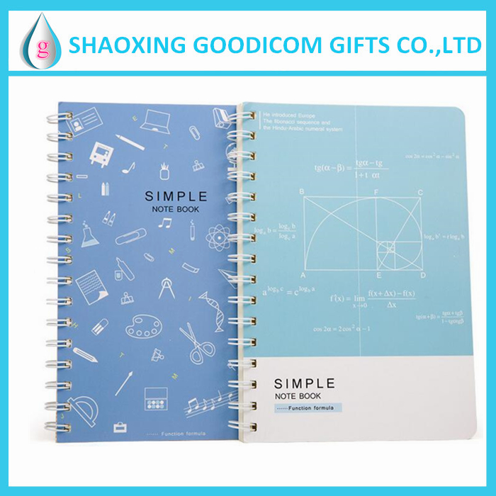 cheap advertising custom printing note book