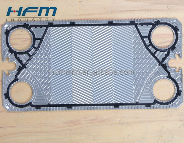 Reliable and Cheap gasket plate heat exchanger solar water heating With ISO9001