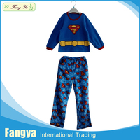 My test kids FY16W10307104-003 alibaba china supplier new design children polar fleece pajama