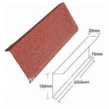 stone coated Evens Flashing metal roofing
