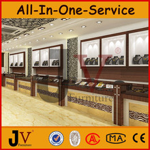 Modern indian style jewellery showroom interior display jewellery showroom designs
