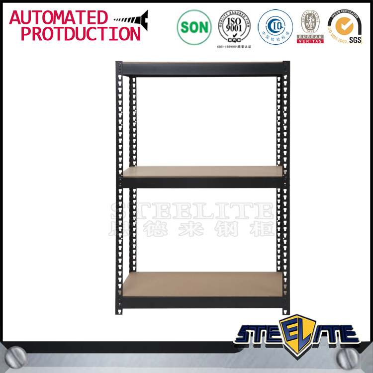 Durable 3 tier Metal Storage Rack Shelving Unit