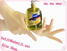 nice forming christmas liquid hand soap 500ml