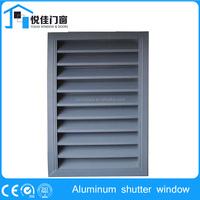 Horizontal Wood exterior shutters, jalousie window replacement