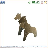 Factory supplier custom made wooden carved anime figure for home decoration