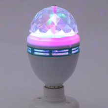 China supplier Remote Control Mini Music Led Crystal Magic Ball RGB LED Stage Lights For Home Party/Disco
