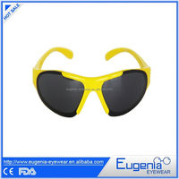 new design china supplier and 2014 fashion style kids sunglasses with custom logo