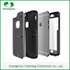 3 in 1 full protective mobile phone case TPU+PC+PET back cover For iPhone 6 / 6 plus with stand function
