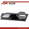 CARBON FIBER VENTED HEAD LIGHT COVER REPLACEMENT (LEFT)FOR NISSAN SKYLINE R32 GTR GTST(JSK220127)