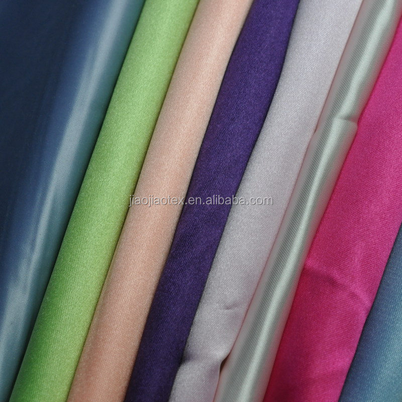 ladies satin underwear fabric/white shiny fabrics satin/satin mattress fabric
