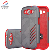 High quality cellphone case for samsung galaxy s3 in bulk,for samsung galaxy S3 hybird smart phone case