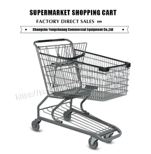 super cheap foldable cargo cart shopping trolley for supermarket
