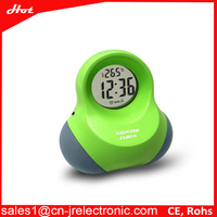 Home Decoration Touch Activate Talking Digital Table Clock/Desk Clock