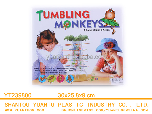 Funny Tumbling Monkeys Challenging Falling Monkeys Board Games for Families Kids