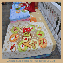 100%polyester Manufactory wholesale cartoon flannel&sherpa baby toys terry cloth blanket