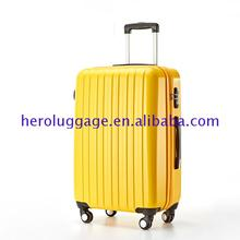 Wholesale price colorful hard shell 20 inch trolley luggage from China