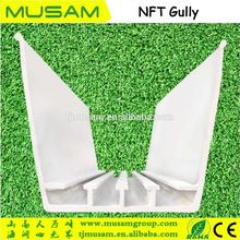 PVC plastic greenhouse strawberry cultivation tray planting gutter