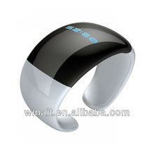 2013 Best Selling wireless led Bluetooth Vibrating Bracelet with Caller name show and sms