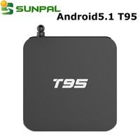 t95 android tv box 2gb rom linux system Quad core Android s905 4k iudtv iptv media player smart tv t95
