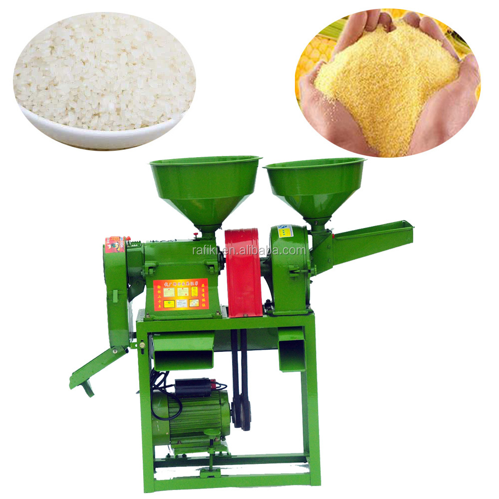 Hot Sale Small Maize Grinding mill Mini Rice Milling Machine