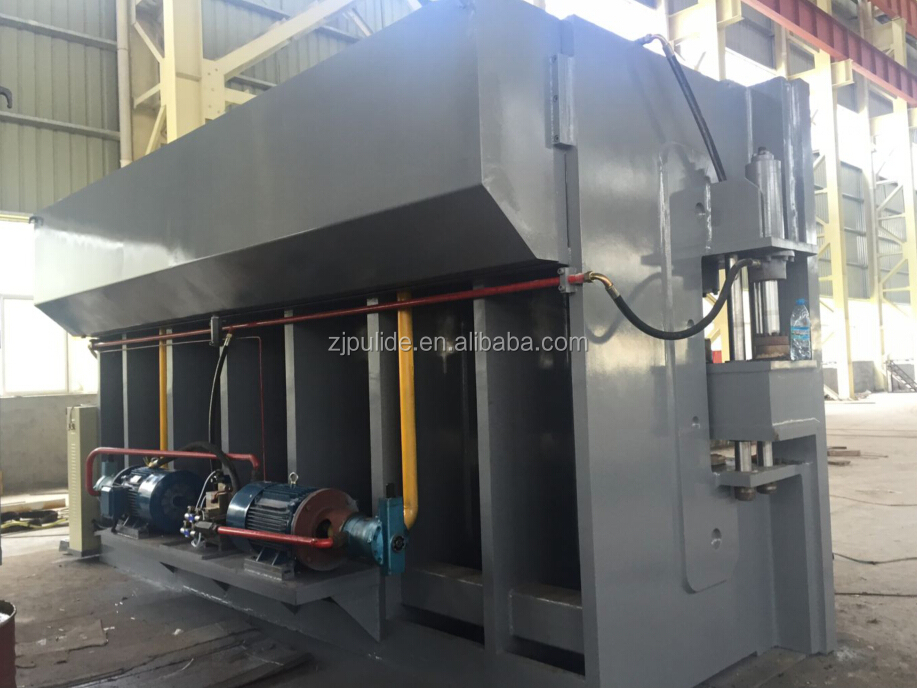 hydraulic steel door frame press machine