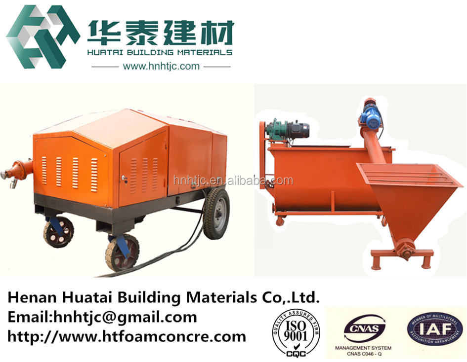Good performance lightweight concrete foaming machine with high profit