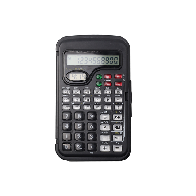 10 Digits Small Function Student Pocket Scientific Calculator with Cover