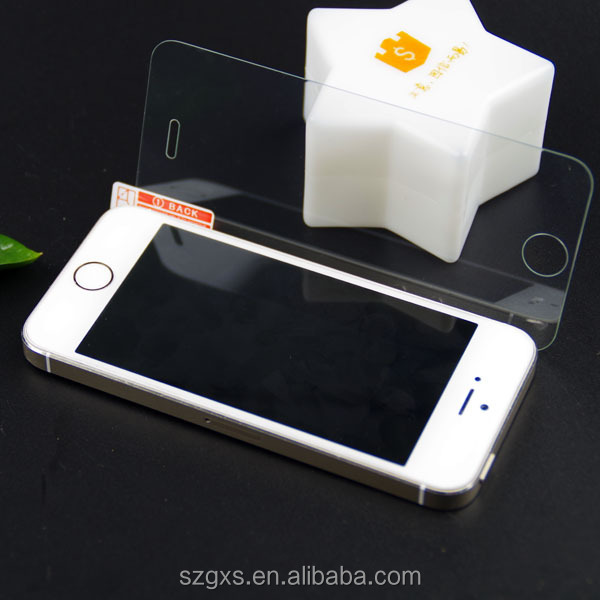 wholesale price 9h ultrathin tempered glass screen protector for iphone 5