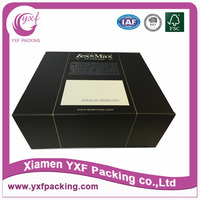 black finely pvc window display packing box for pets' products