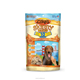 Resealable custom printed doypack 200g coffee packing foil bags Bakes Dog Treats Bag
