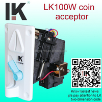 LK100W Electronic CPU coin acceptor usb for amusement machine,coin acceptor usb in jukebox machine