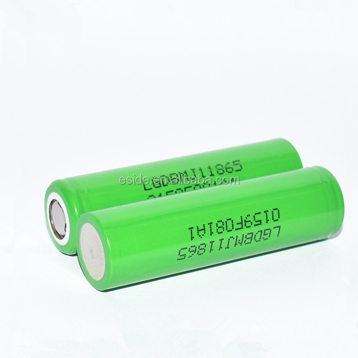 Hot for lg Lithium ion battery manufacturers 3.7V rechargeable 18650 3500mah batetry for e cigarette