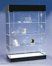 2015 Luxury display cheap clear acrylic display cabinet