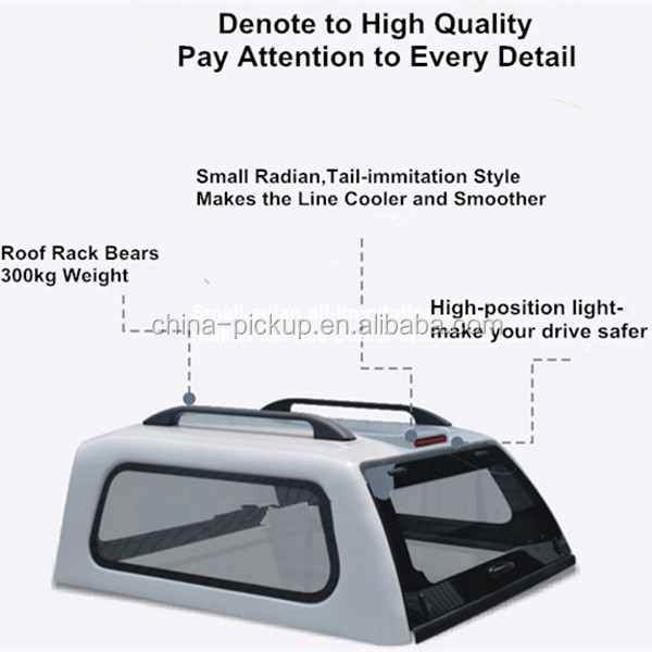 Pickup Truck Hardtops/Canopy/Bed Caps/Toppers for Mitsubishi Triton