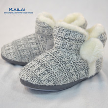 Hot sale women knitting winter fashion new boots