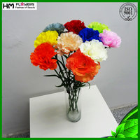 artificial carnation flower wholesale home decoration items