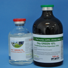 Oxytetracycline injection 5% 10% 20% veterinary medicine for animal cattle use