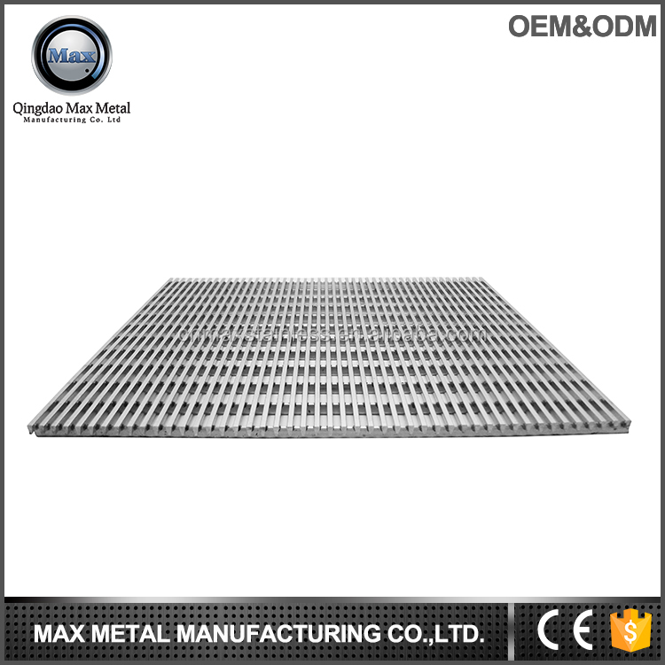 Customed design patterned floor drain metal floor grating garages hardware items used in construction