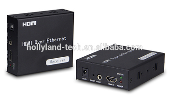hdmi extender 120m over tcp ip supports Full HD 3D with IR remote control 1080p